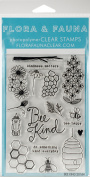 Flora & Fauna Clear Stamps 10cm x 15cm