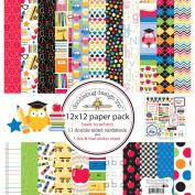 Doodlebug Double-Sided Paper Pack 30cm x 30cm 11/Pkg