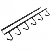KaiCran New Kitchen Storage Rack Cupboard Hanging Hook Hanger Chest Storage Organiser Holder