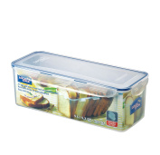 LOCK & LOCK Airtight Rectangular Food Storage Container with Divider, Bread Box 5000ml / 21.13-cup