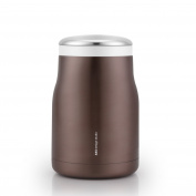 AKS Vacuum Insulated Stainless Steel Food Jar, 470ml with a carrying bag