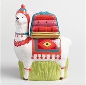 Ceramic Llama Cookie Jar, Novelty Ceramics, Kitchen Canister, Cookie Jar With Airtight Lid For Food Storage, Store Cookies, Crackers, Chips and More