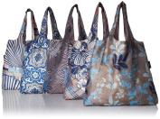 Envirosax ML.P Mallorca Pouch, Set of 5 Reusable Shopping Bags Grocery, Multicoloured