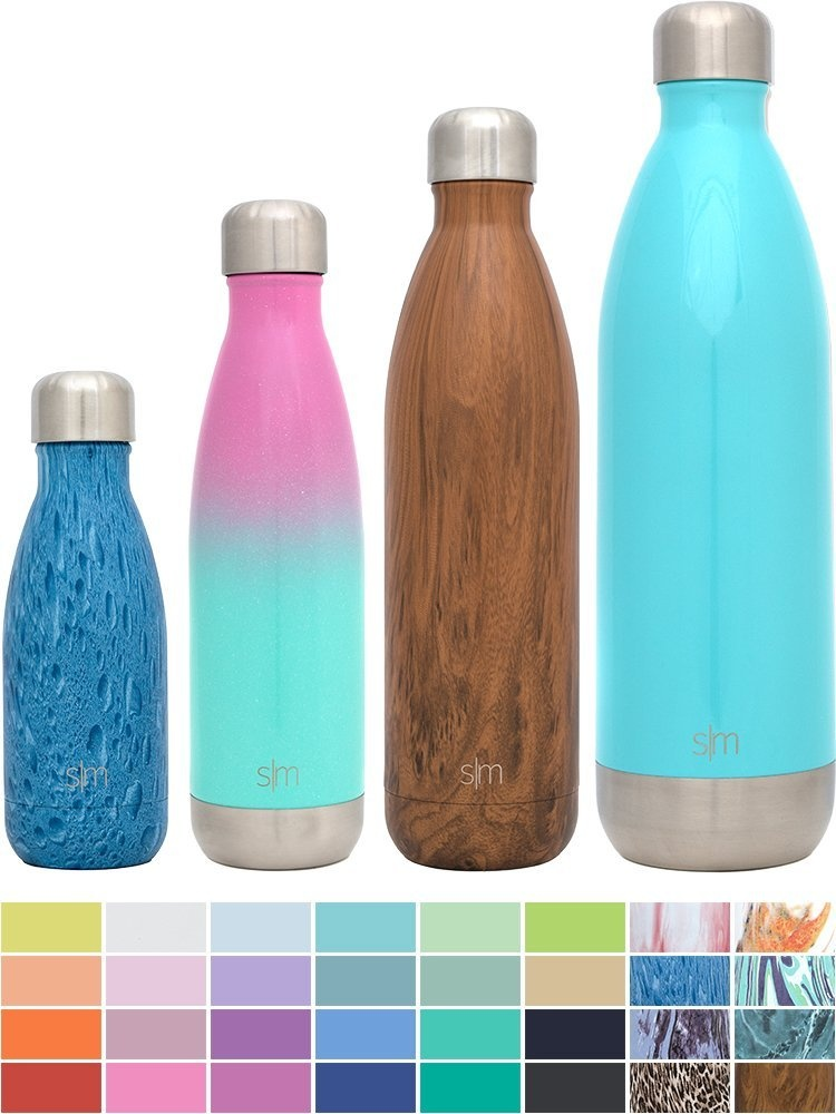 d221064cb6 Simple Modern Wave Water Bottle - Vacuum Insulated Double-Walled 18 ...