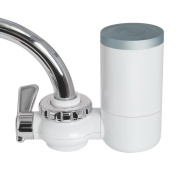 Faucet Water Filter, 8 Stage Water Filtration Faucet Mount, 7 Different Kinds of Interfaces, Suitable for Most Faucets, Easy to Instal, 1.7lmin/100kpa Large Filtration Discharge System
