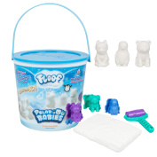 Floof Modelling Clay - Reuseable Indoor Snow - Endless Creations With 3 Polar Baby Moulds and Pawprint Roller