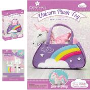 Unicorn Plush Toy Sewing Kit for Girls - Craft Stuffed Plush Gift