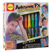 ALEX Toys Guy Gear Awesome FX Hair Chalk Pens