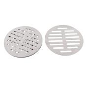 """Kitchen Bathroom Round Floor Drain Drainer Cover 5"""" 12.5cm Dia 4Pcs"""
