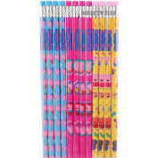 Peppa Pig Character Authentic Licenced 12 Wood Pencils Pack