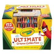 Ultimate Crayon Case, Sharpener Caddy, 152 Colours