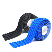 Self-adhesive Reusable Silicone Building Block Tape Base Plates for Lego Toy Brick