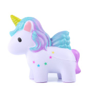 Aolige Squishies Slow Rising Jumbo Kawaii Cute Coloured Unicorn Creamy Scent for Kids Party Toys Stress Reliever Toy