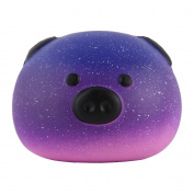Anboor 8.4cm Squishies Pig Bread Jumbo Slow Rising Kawaii Scented Soft Galaxy Bun Animal Squishies Toys Colour Random