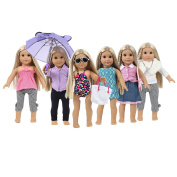 American Girl Doll Clothes and American Girl Clothes for 46cm Dolls - These American Girl Doll Accessories are One of a Kind- American Girl Doll Stuff for Endless Hours of Play -Shoes Not Included