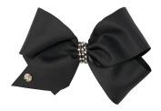 Rubies 34891_NS Jojo Siwa Hair Bow, Black, One Size