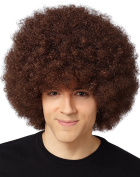 Brown Afro Wig By