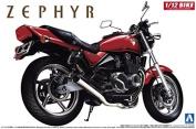 AOSHIMA 1/12 Motorcycle   Model Building Kits   No.10 Kawasaki ZEPHYR Type IV [ Japanese Import ]