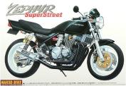 AOSHIMA 1/12 Motorcycle   Model Building Kits   No.22 Kawasaki ZEPHYR Super Street [ Japanese Import ]