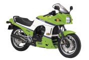 AOSHIMA 1/12 Motorcycle   Model Building Kits   No.41 Kawasaki GPZ900R NINJA A2 Export Ver. [ Japanese Import ]