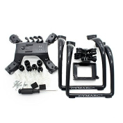 Extended Landing Gear and Camera Holder with Gimbal Kit for MJX B2W B2C Bugs 2 RC Quadcopter (Colour