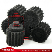 6pcs NEW 1/8 RC Nitro Engine Buggy Air Dust Filter External Sponges accessories