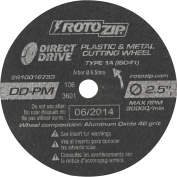 Direct Drive Plastic And Metal Cutting Wheel