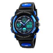 Fomtty Children's Watches Boys Girls Digital Sport Watch Waterproof Alarm for Ages 7 – 15 Years Old Unisex Children