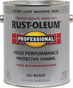 Rustoleum Professional High Performance Oil Based Rust Preventive Protective Enamel Paint, Grey