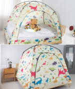 CAMP 365 Child's Indoor Privacy and Play Tent on Bed Sleep Cosy in Draughty Room
