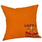 Thanksgiving Pillow Cases,New Goods Sale!ZYooh Cotton Linen Throw Pillow Case Cushion Cover Cafe Home Party Hallowmas Christmas Decor