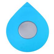 Wimaha Bathtub Drain Stopper Silicone Recyclable Rubber Bath Tub Drain Plug Cover for 2.5cm - 2.5cm /5.1cm - 10cm Bathroom, Laundry, Kitchen Universal Use, Blue Water-drop Design