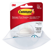 Command Soap Dish, 2-Pack