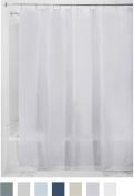 InterDesign PEVA 3 Gauge Shower Curtain Liner - Mould/Mildew Resistant, PVC Free – Lavender, 180cm x 210cm