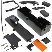 HPI 1/10 Bullet MT ST Flux BATTERY/RECEIVER BOX RADIO TRAY & CHASSIS BRACES