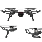 O'woda Foldable Landing Gear with Quick Release Propellers Protector Props Bumper Protective Guard for DJI Spark