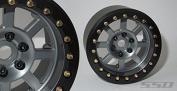 SSD RC 5.6cm Assassin Wide Beadlock Wheels (Grey)