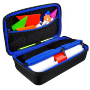 Osmo Genius Kit Carrying Case by DACCKIT - fit for Osmo iPad Base, Osmo Starter Kit, Numbers Game, Words Kit, Tangram, Coding Awbie Game, Pizza Co. Game