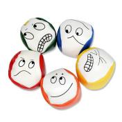 Toponechoice 1pc Juggling Balls Set Classic Bean Bag Magic Circus Beginner Kids Toy Gift Random Colour