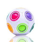 MerryXD Magic Rainbow ball,Magic Fidget Toy Magic Puzzle Fun Fidget