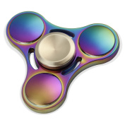 Elongdi EDC Fidget Spinner Precision Metal Help Focus Durable Hand Spinner Toy Perfect for Spend Time Relieves Anxiety Fidget ADHD Autism Lessen Boredom