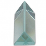 Hawk 2.5cm X 5.1cm Optical Glass Triangular Prism For Educational Or Photography Use, To Refract Light
