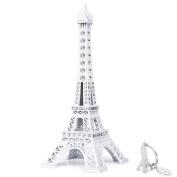 SiCoHome Eiffel Tower Cake Topper,18cm ,White