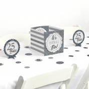 We Still Do - 25th Wedding Anniversary - Party Centrepiece & Table Decoration Kit