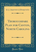 Thoroughfare Plan for Canton, North Carolina