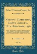 Nelsons' Lumberton, North Carolina, City Directory, 1956, Vol. 33