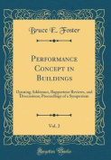 Performance Concept in Buildings, Vol. 2