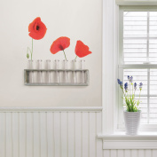 Home Decor Line Poppy Wall Decals