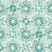 Patina Vie Fatima Tiles Wallpaper - Teal