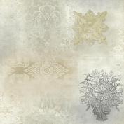 Patina Vie Prisha Patchwork Wallpaper - Neutral